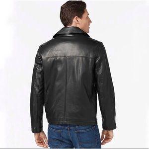 Tommy Hilfiger Genuine Black Leather Jacket